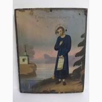 Старинная икона Св.Симеона Верхотурского
