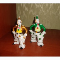 Статуэтки советский фарфор клоуны вербилки 40-50-х