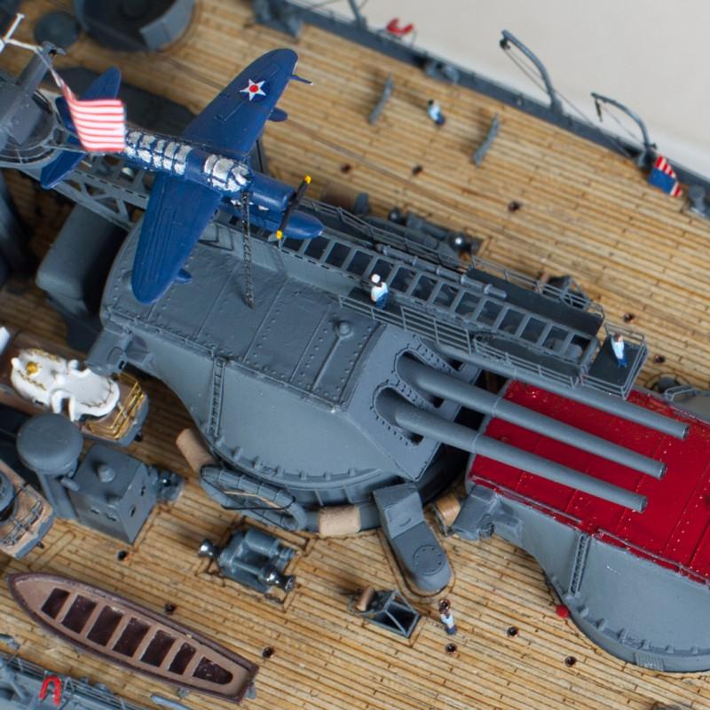 Фото 10. Продам модель линкора Аризона в масштабе 1/350