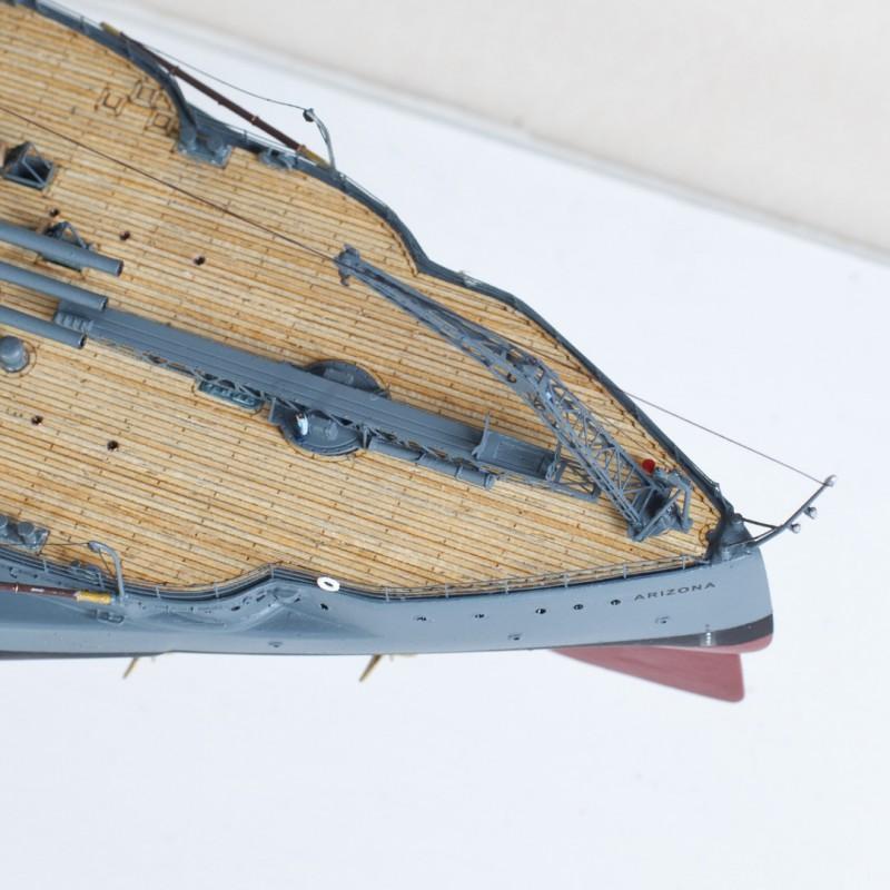 Фото 11. Продам модель линкора Аризона в масштабе 1/350