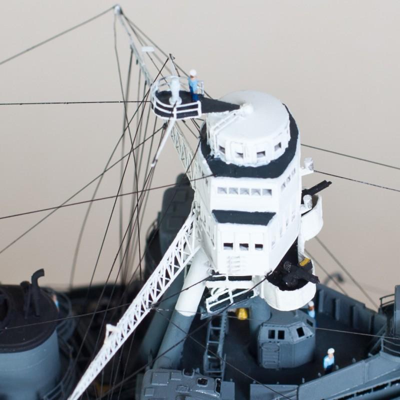Фото 14. Продам модель линкора Аризона в масштабе 1/350