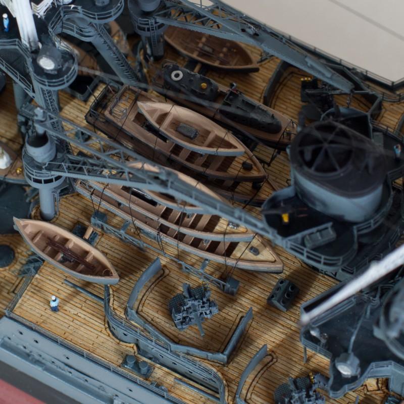 Фото 15. Продам модель линкора Аризона в масштабе 1/350