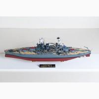 Продам модель линкора Аризона в масштабе 1/350