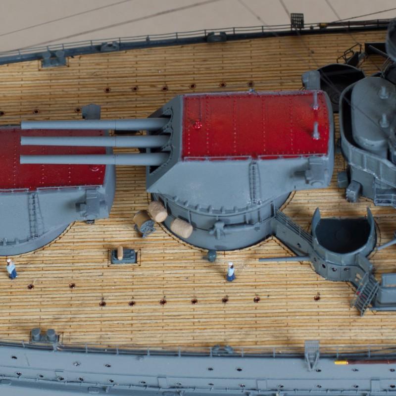 Фото 3. Продам модель линкора Аризона в масштабе 1/350