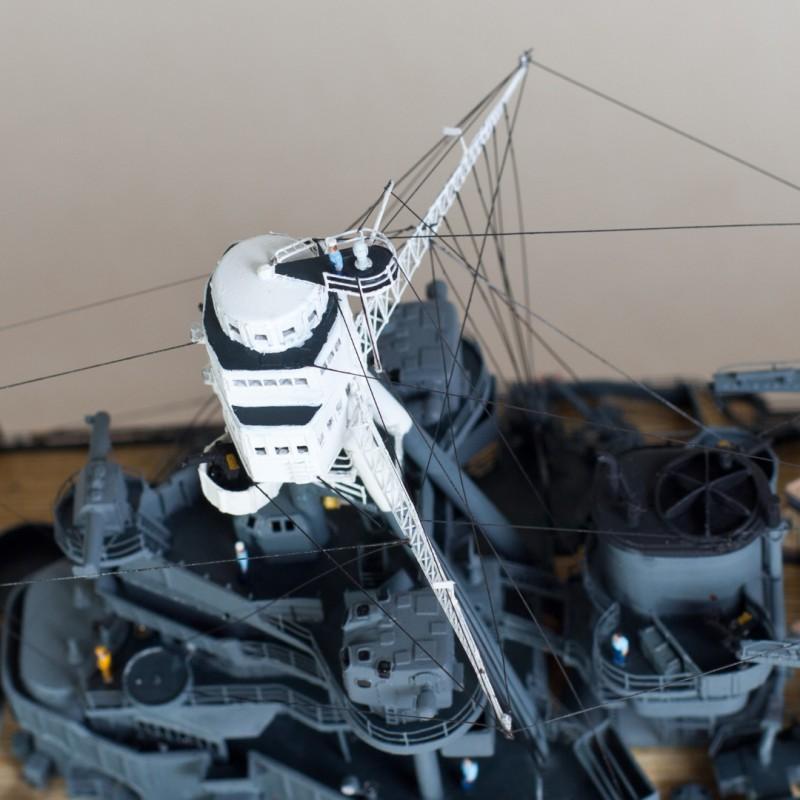 Фото 4. Продам модель линкора Аризона в масштабе 1/350