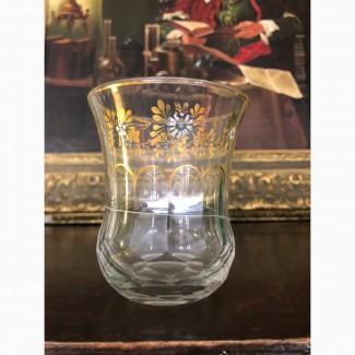 Стакан (стекло, роспись, позолота) XIX в