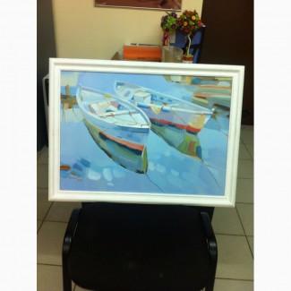 Продам картину лодки