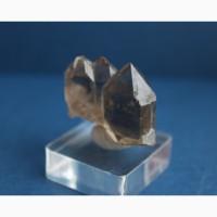 Дымчатый кварц, параллельный сросток кристаллов