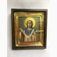 Старинная икона «Святой апостол первомученик и архидиакон Стефан» Вторая половина 19 века