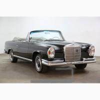 1963 Mercedes-Benz 220 SE Cabriolet