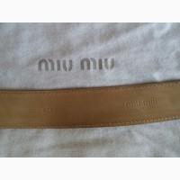 Женские сумка и ремень Miu Miu