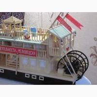 Продам модель парохода
