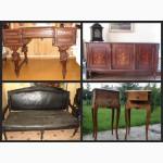 Продам: старинные часы, мебель, керамику,зеркала и др. антиквариат