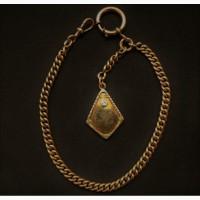 Продается Золотой Шатлен с брелком. конец XIX века начало XX века