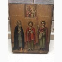 Продам Икону Иоанн Пантелеймон Вонифатий