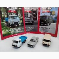 Коллекционные масштабные модели Автолегенды СССР 1/43