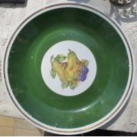Фарфоровая настенная тарелка, фарфор Вайсвассер
