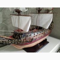 Продам макет корабля повелитель морей