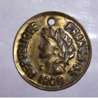 Что это? Монета или жетон? И его история? Вроде 1808 год