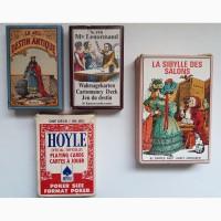 Набор винтажных игральных и гадальных карт