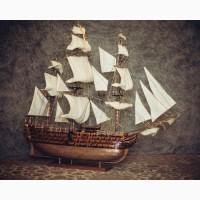 Продам макет корабляМодель Корабля Santisima Trinidad