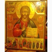 Икона Спас Нерукотворный, большая, 19 век