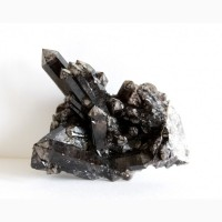 Морион, друза кристаллов