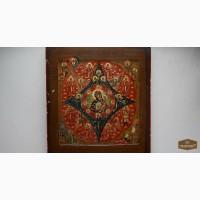 Икона М.Божья «Неопалимая Купина». 19 в. в Санкт-Петербурге