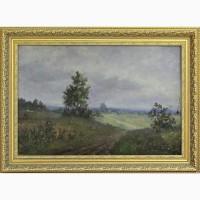 Продается Картина Проселочная дорога Комиссаров И.Е. Самара 1949 год