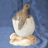Морская черепашка НАТАШКА эксклюзивный подарок из натурального камня