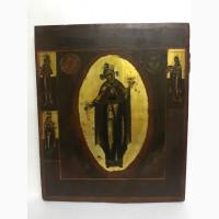 Старинная икона Пресвятой Богородицы Восточная 19 век