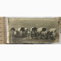 Фотография Казачий отряд в походе, 19 век
