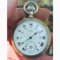 Карманные часы Павел Буре, царская Россия, точный ход