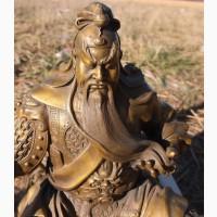 Бронзовая статуэтка Жёлтый император, 20 век