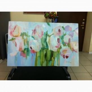 Продам картину цветы