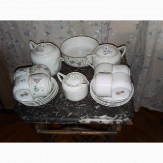 Кузнецовский чайный сервиз на 8 персон