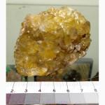 239 Друза кварца с гетитом, мест-е Мангистау, Казахстан