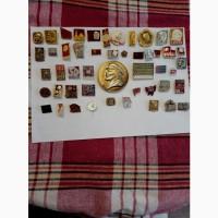 Значки СССР коллекция-Лениниана