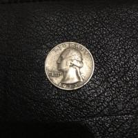 Либерти доллар 1972 года перевертыш