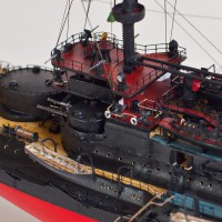 Продам модель броненосца Князь Суворов 1/350