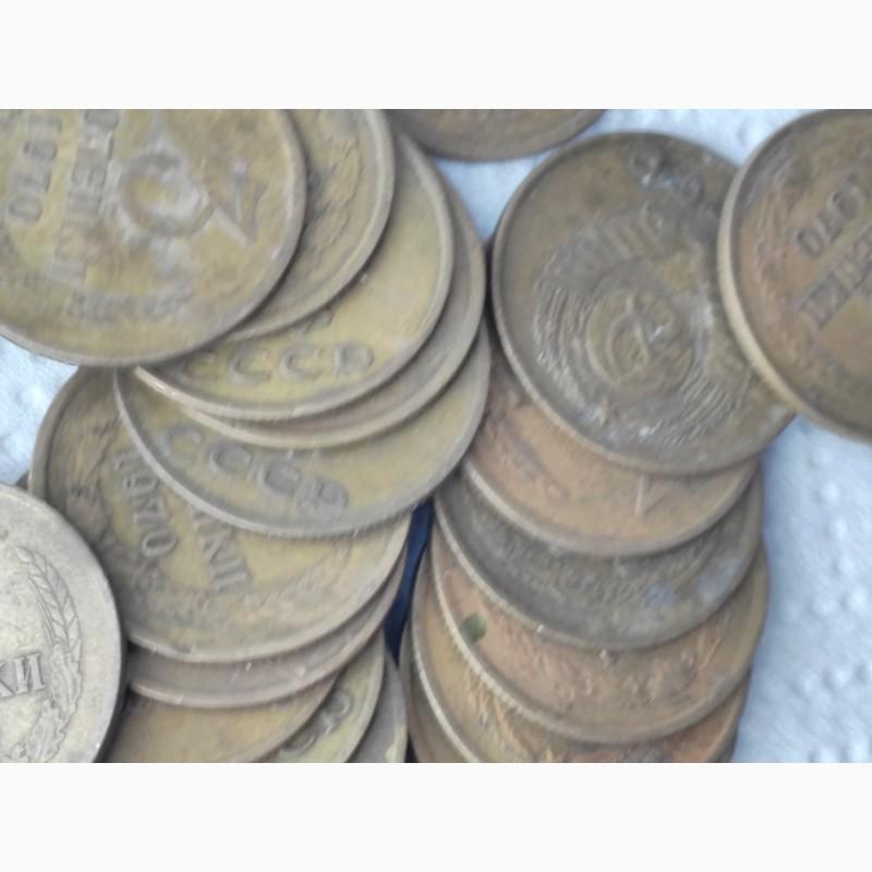 Фото 2. Продам монеты 3коп 1970г, лот 30шт