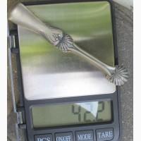 Серебряные щипчики для сахара, серебро 875 проба