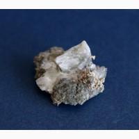 Серебро самородное на породе