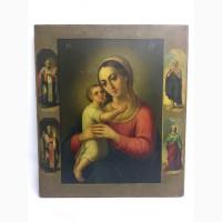 Старинная икона Пр.Богородицы (Взыскание погибших) Рубеж 19-20 века