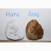 Камни с природными изображениями людей и животных