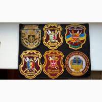 Шевроны Военные комиссариаты. Украина