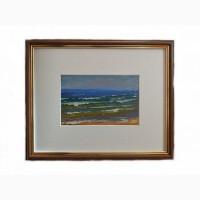 Продается Картина Берег Балтийского моря Капустин В.П. Латвия 1974 год