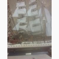 Продам деревянную модель корабля gorch fock
