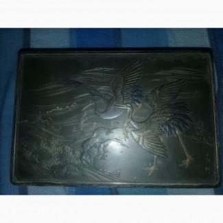 Продам шкатулку мельхиоровую 1947 г.в.Китай