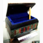 Продам Шкатулка, цветочная яшма, зеленая яшма, халцедон, #146